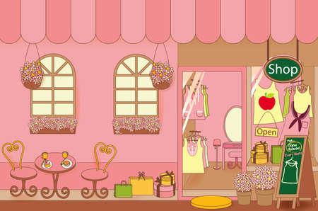 tienda de ropas: Tienda de ropa