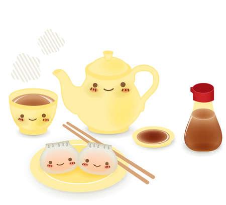 sum: Cute Dim sum - Chinese Food