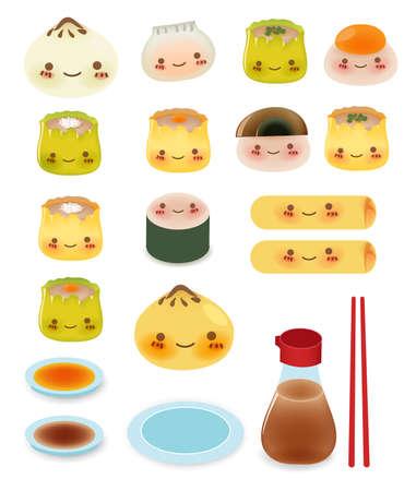 Collection mignonne DimSum