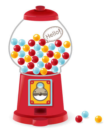 Gumball Machine Stock Vector - 19977655