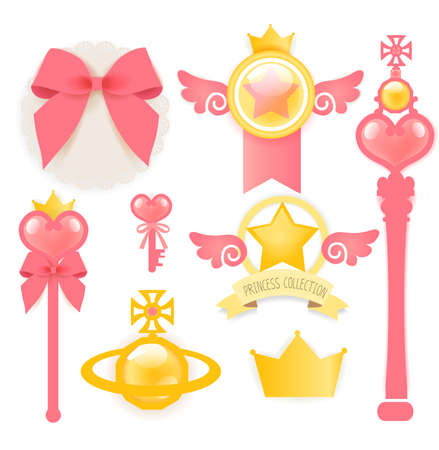 Princess Collection  Stock Vector - 19977607