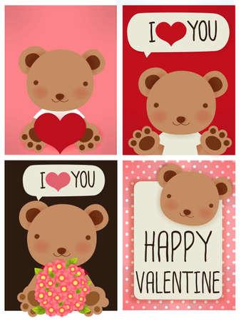 Valentine Card  Ilustração