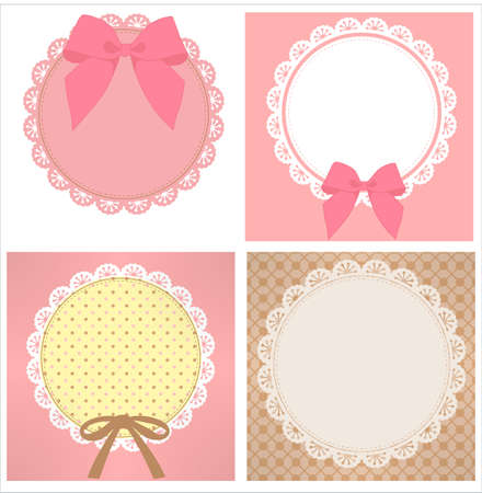 cute lace pattern Stock Vector - 19977723