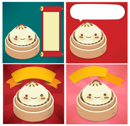 Chinese New Year Greeting card  Stock Vector - 19977468