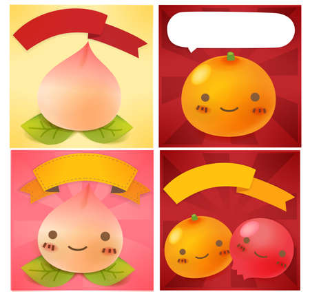 Chinese New Year Greeting card Stock Vector - 19977529