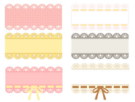 girl pink: lace label