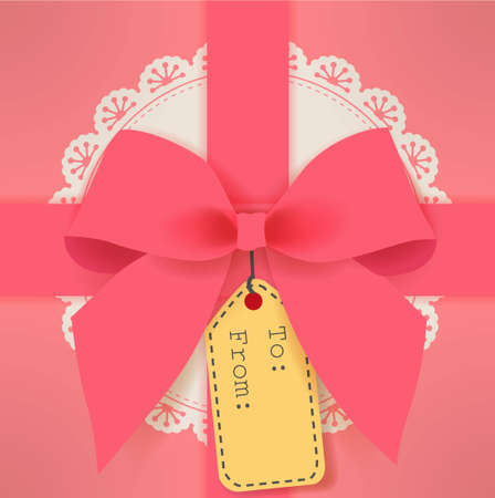 cute gift box Ilustração
