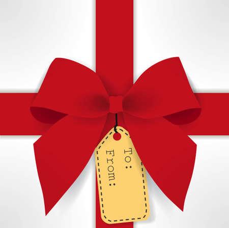 merry chrismas: cute gift box Illustration