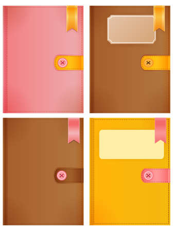 Diary Collection Vector
