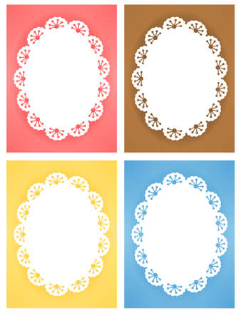 Cute Lace Pattern Stock Vector - 19977606