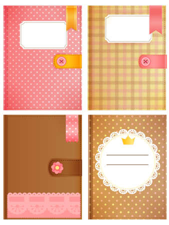 Diary Collection Stock Vector - 19977466