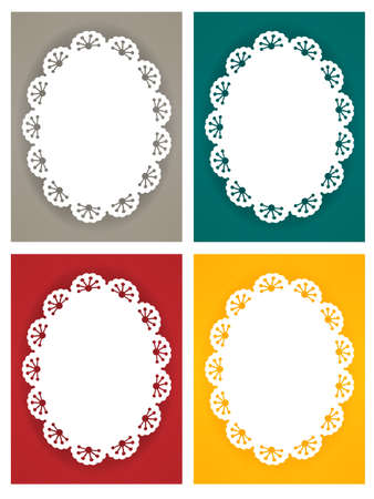 Cute Lace Pattern Stock Vector - 19977611