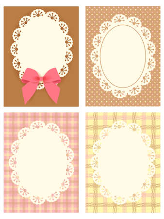 Cute Lace Pattern Stock Vector - 19977654