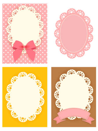 Cute Lace Pattern Stock Vector - 19977603