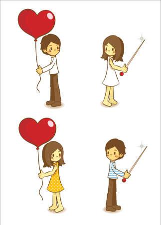 heartache: Cute Character