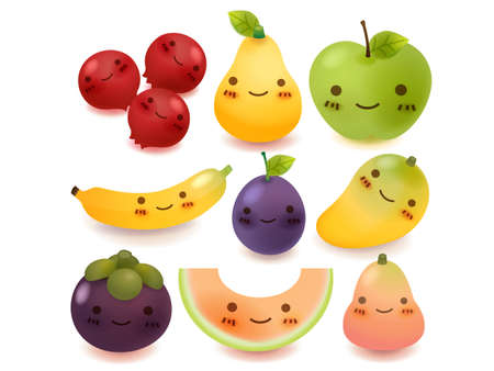 Collection de fruits et l�gumes