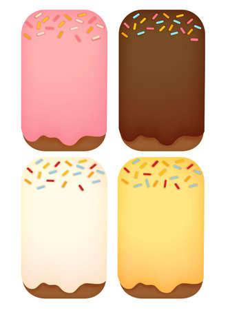 childern: Dessert Background  Illustration