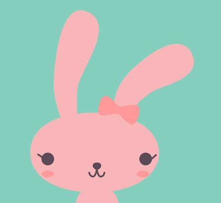 bunny rabbit: Cute Rabbit  Illustration
