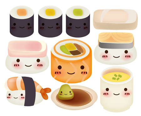 baby rice: Sushi Collection