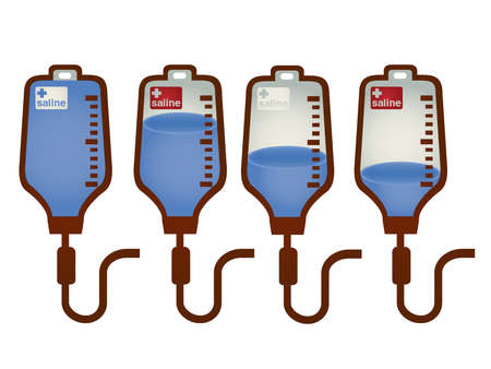 iv bag: Collection of iv bag Illustration