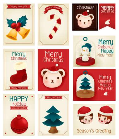 greeting season: season greeting card