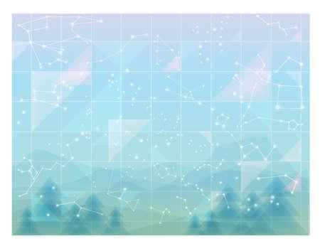 constellations: Resumen cielo constelaciones m�nimos wallpaper
