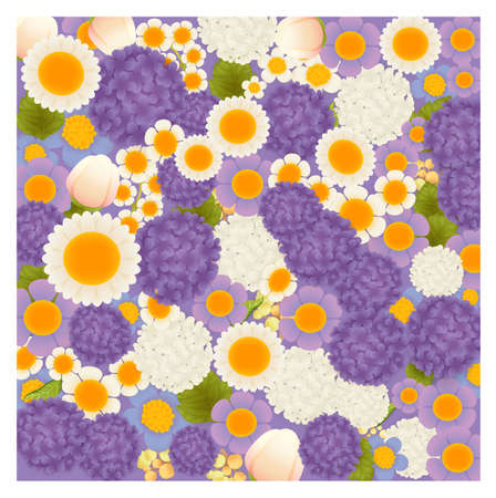 eleganz: Floral Background Vector-Datei EPS10