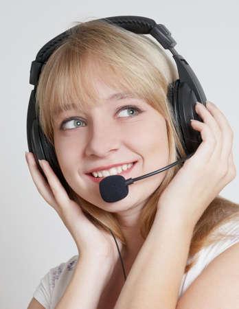 happy teenage girl in headphones Stock Photo - 5654542
