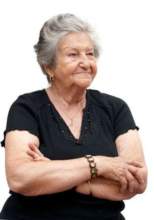 great grandmother: Lovely bisabuela cubana de cerca. Mujer de noventa a�os.