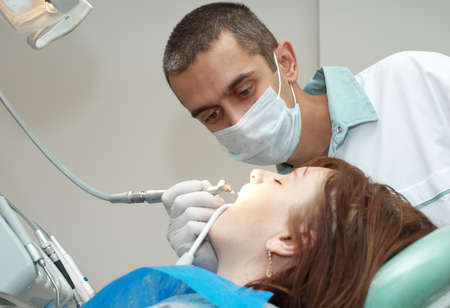 Medical treatment at the dentist office Stock Photo - 8142939