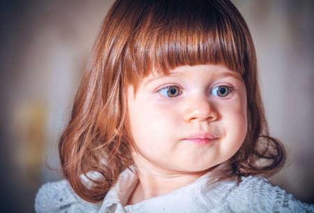 Portret van een mooi meisje close-up