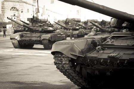 rehearsal: Victory parade rehearsal, technique on Tverskaya Street Editorial
