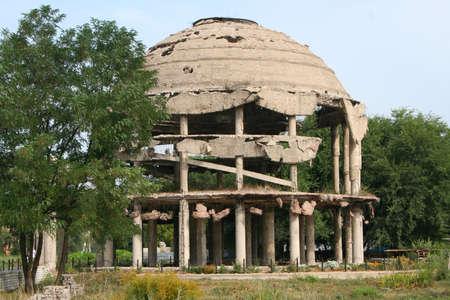 voronezh: Voronezh  Rotunda  Monument To WORLD WAR II Stock Photo