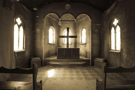 The scenery of the Catholic Church