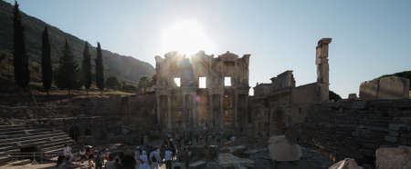 The sun and ancient city Editorial