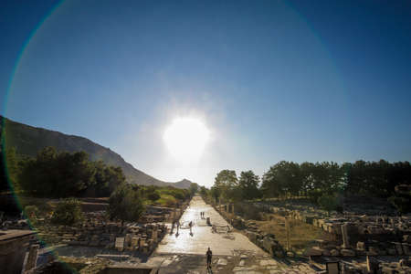 Hallo Effect at Ephesus Ancient City