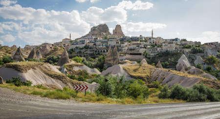 Uchisar Village, Cappadocia Editorial