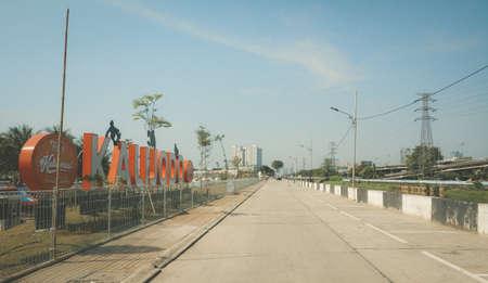 Kalijodo in Indonesia. Editorial