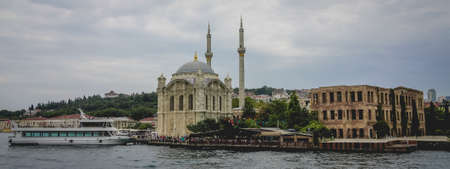 Mosque in the riverside