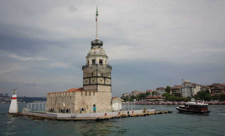 Maidens Tower at Istanbul, Turkey