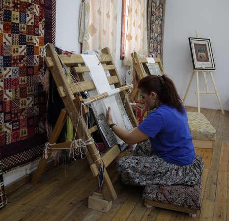 The Carpet Maker on Cappadocia, Turkey