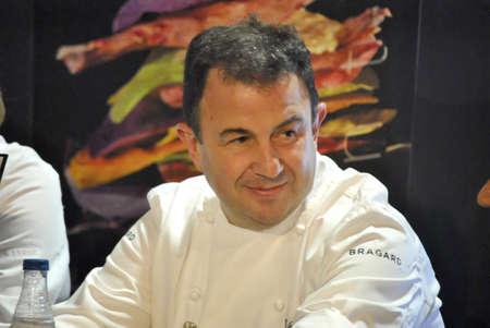 Martin Berasategui international vasque chef, LMG Culinary Congress IFA Alicante, Spain. 2.011