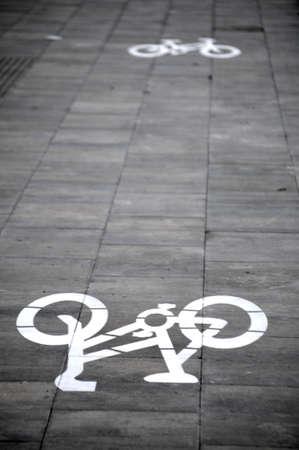 bike of circulation textured