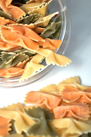 farfalle italian pasta cook culture  Stock Photo