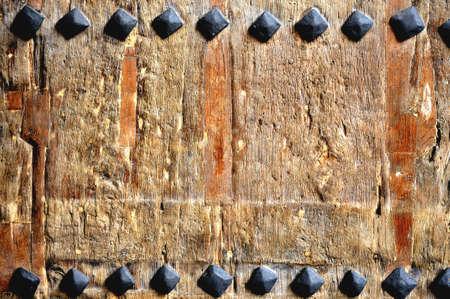 medieval old door texture of wood background