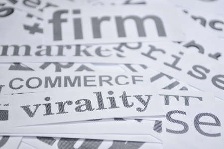 virality commerce firm words of economy selling concepts