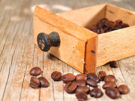 coffee gourmet natural beans  Stock Photo