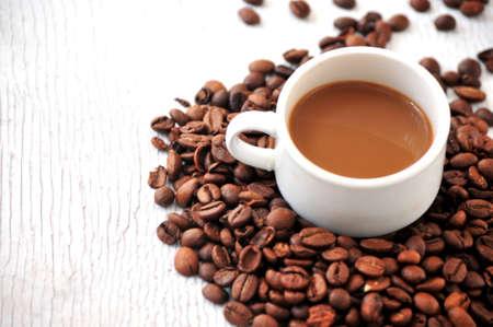 coffe break: coffee cup mug for morning breakfast hotel coffe break lunch Stock Photo