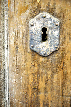 oldest and vintage knocker for key  photo