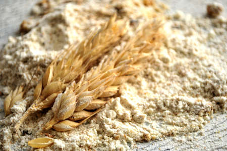 organic bakery cereal for bake making industries make bread photo